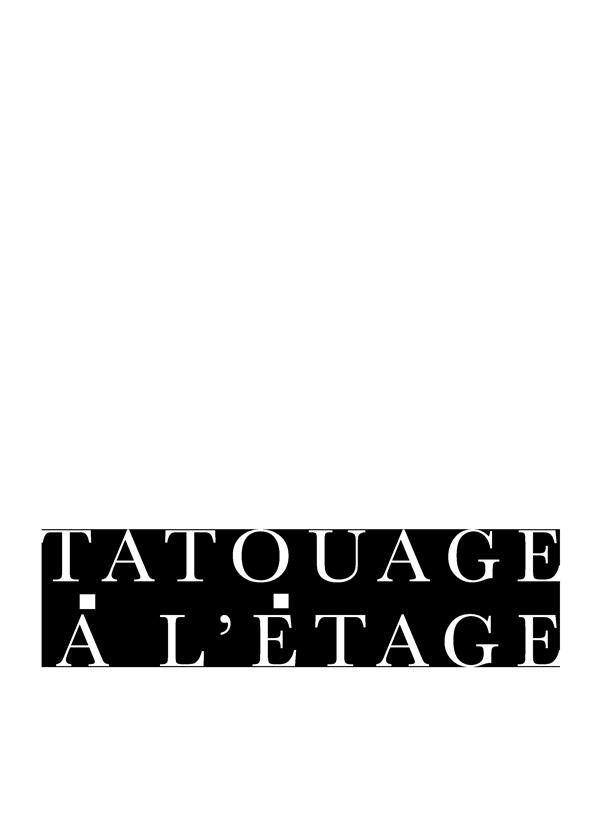 Tatouage à l'étage logo